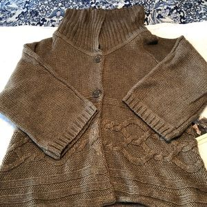 NWT brown sweater